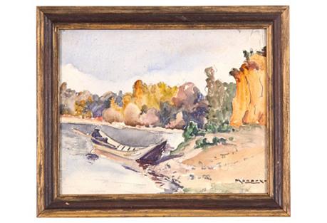 Boating,      C. 1930