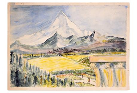 Mount Everest, C. 1960