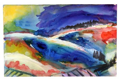 Multicolor    Landscape, C. 1960