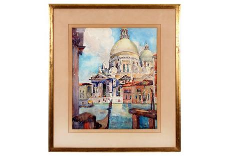 Santa Maria della Salute by C. Bradley