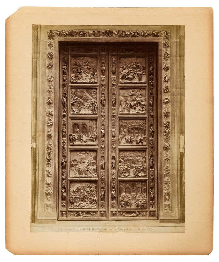 19th-C. Ghiberti's Doors, Florence