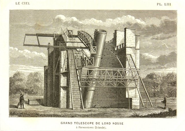 Grand Telescope of Lord Rosse, 1877
