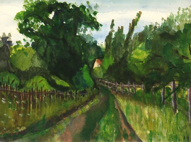 Country Lane, 1934