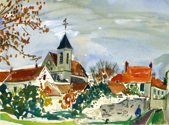 Autumn View, C. 1950