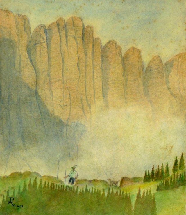 Cliffside Jaunt, 1956