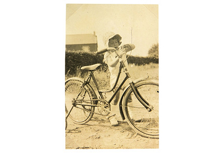 Young Cyclist, C. 1930