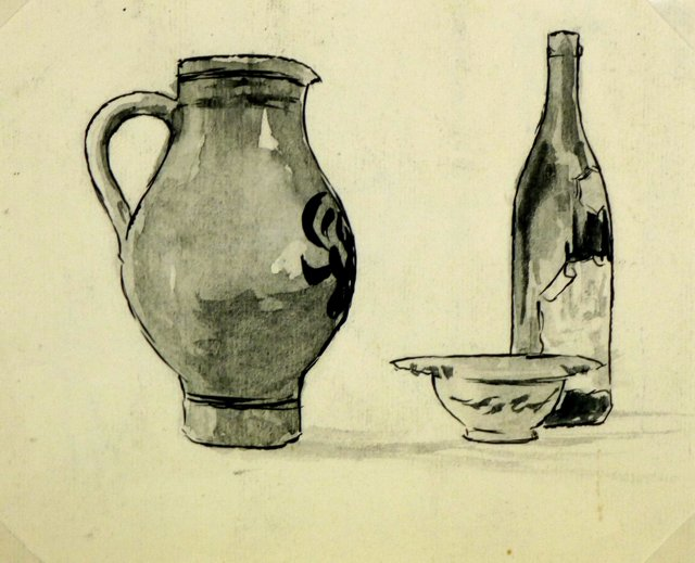 Wine, Pitcher and Bowl, C. 1930