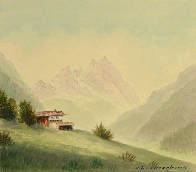 Watzmann Mountain