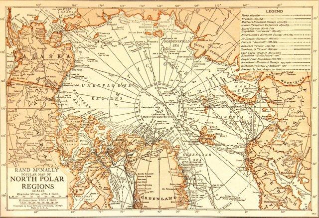 North Pole Explorations, 1925