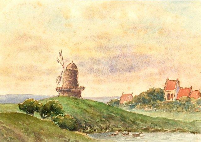 Hilltop Windmill, C. 1930