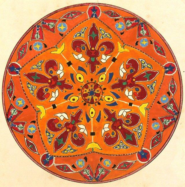 Circular   Design, C. 1920