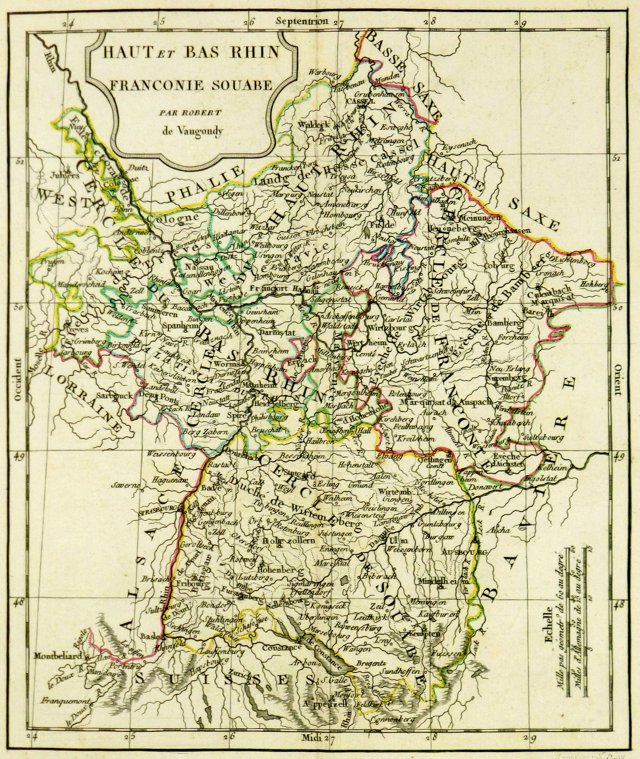 Western Germany, 1806