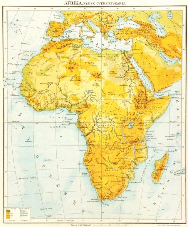 Africa, 1943