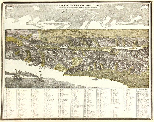 Holy Land, 1889