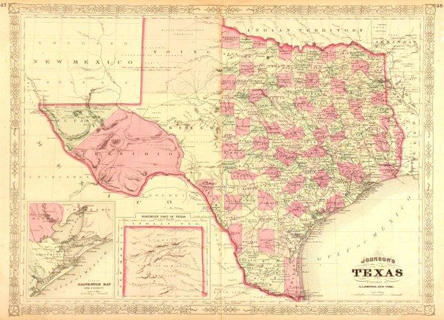 Texas, 1866