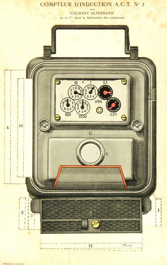 chairish- Induction Meter, 1927