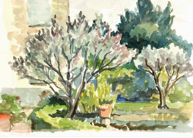 The Garden, C. 1950
