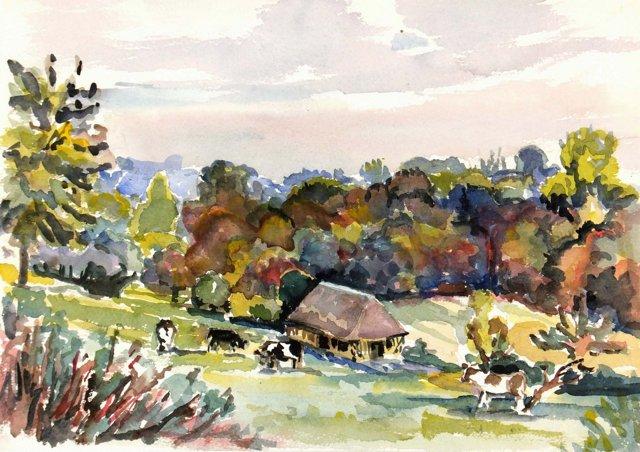 Farmstead, C. 1950