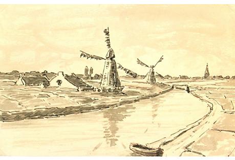 Windmills & Farmlands