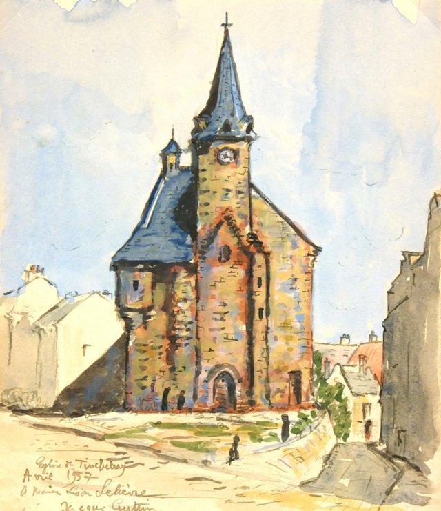 St. Remy Church, 1957