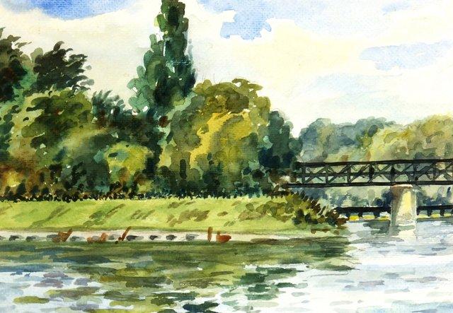 The Truss Bridge, C. 1950