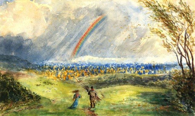 Rainbow Field, C. 1960