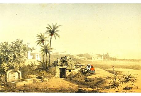 Desert Oasis,  C. 1860