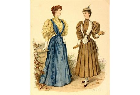 French Fashion,  1895