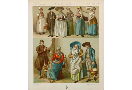 Clothing Styles of Holland, 1885