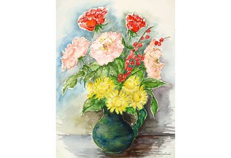 Flowers Watercolor