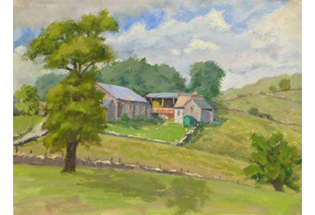 Country Watercolor, C. 1960