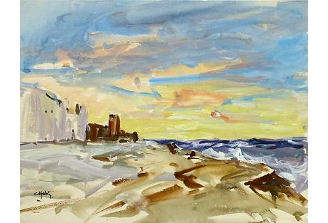 Coastal Sunset,  C. 1960