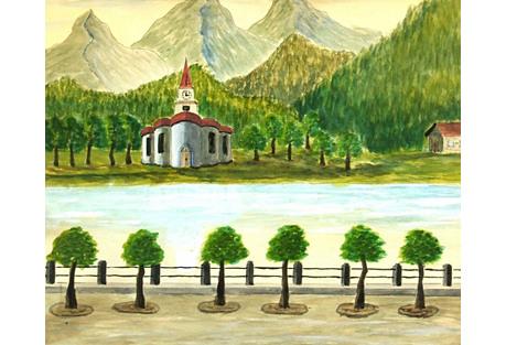 Lake Front,  C. 1940