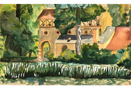 Woodland Abode,  C. 1930