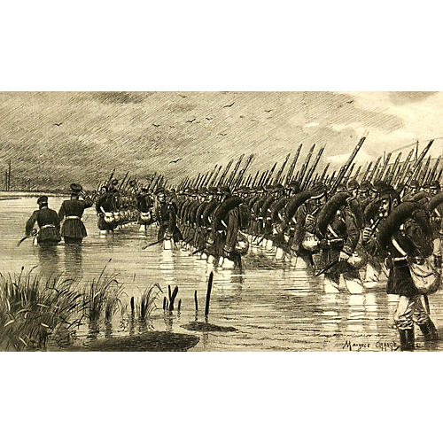 Infantry Practice, 1887