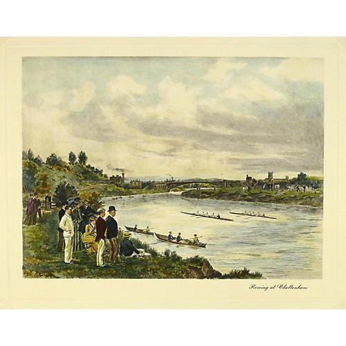 Rowing at Cheltenham