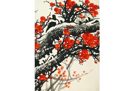 Plum Blossom Branches