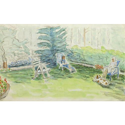 Garden Rest, C. 1975
