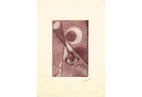 Night Eye Abstract,  C. 1940