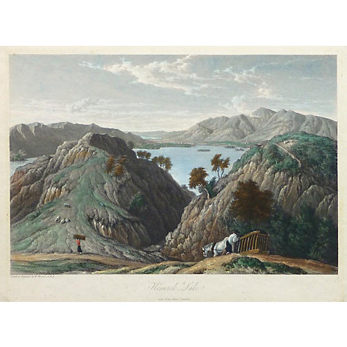 Keswick Lake England, 1819