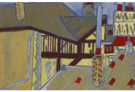 Twilight Roof Tops, C. 1930