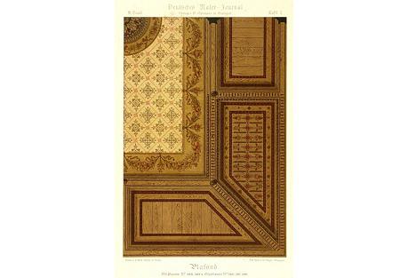 Ceiling Interior Decor, C. 1880