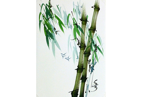 Birds in Bamboo