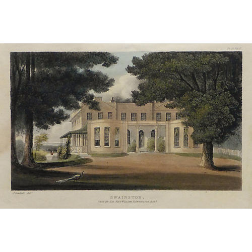 Swainston Manor, 1825
