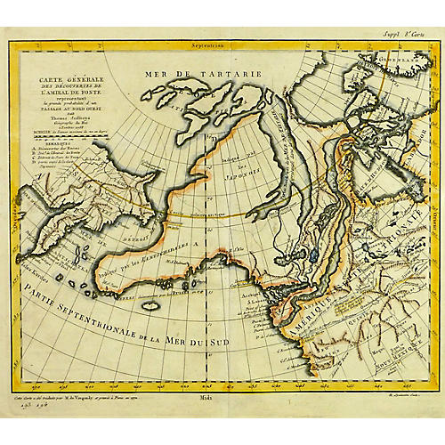 North Western America, 1772