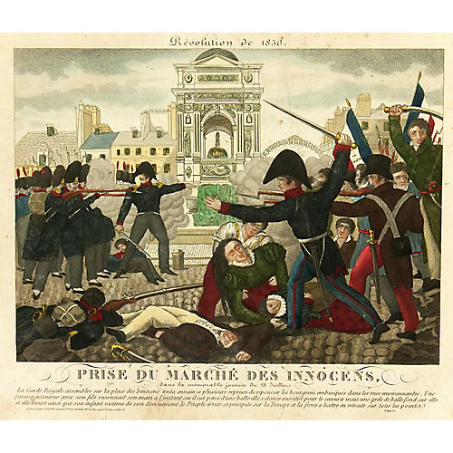 French Revolution, 1830