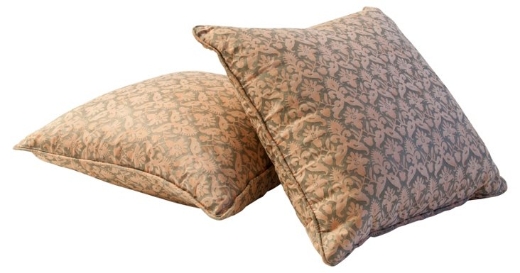 Fortuny  Delfino   Pillows, Pair