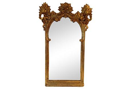 Spanish Wood Mirror