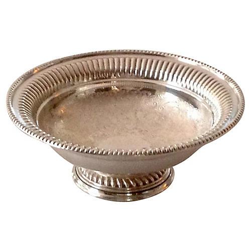 Barker Ellis Silver-Plate Bowl