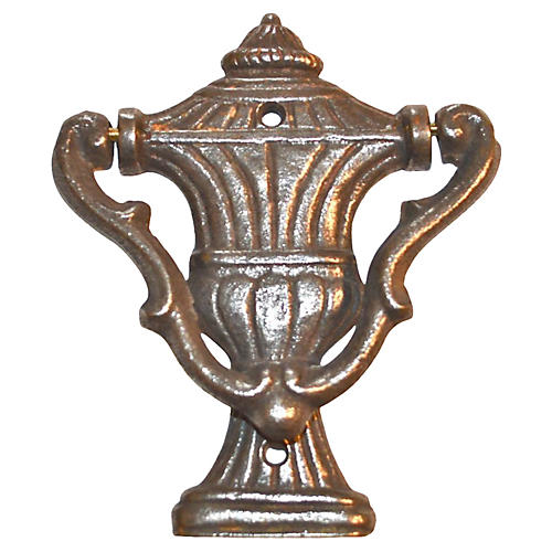Classic Urn Cast Iron Door Knocker